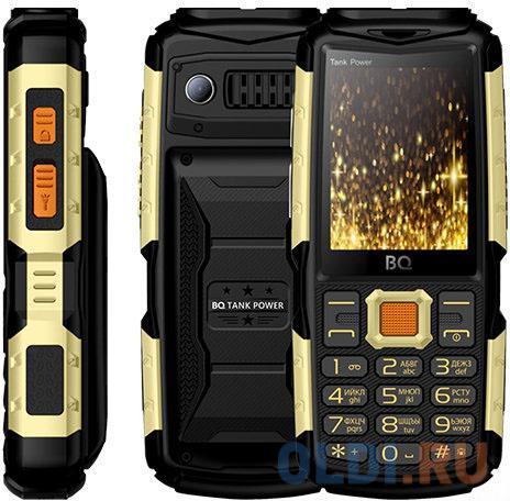 Картинка для BQ 2430 Tank Power Black&gold Мобильный телефон