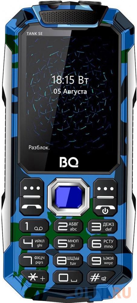 Мобильный телефон BQ 2432 Tank SE камуфляж 2.4 32 Мб мобильный телефон bq elegant 3595 серый