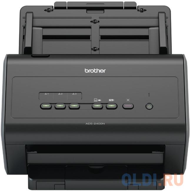 Сканер Brother ADS-2400N настольный, сетевой