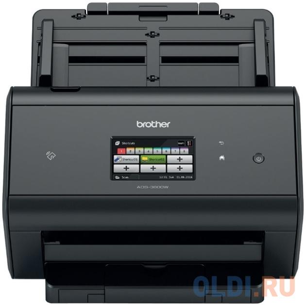 Сканер Brother ADS-3600W настольный, беспроводной, сетевой