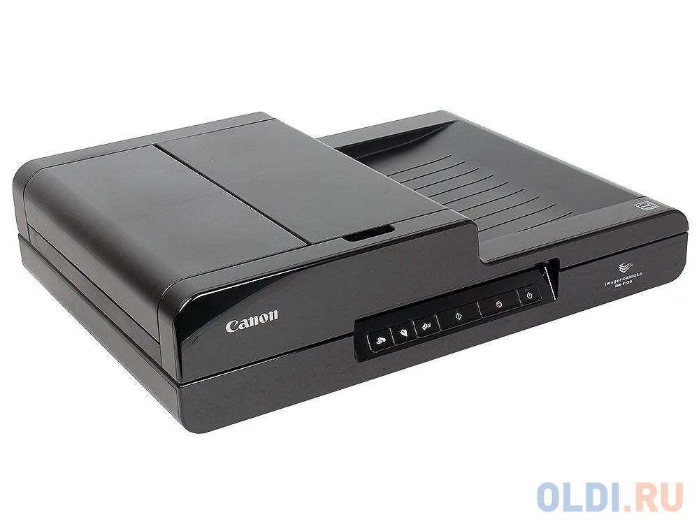 Сканер Canon DR-F120 Цветной, двусторонний, 20 стр./мин, ADF 50 + планшетный блок А4, USB (9017B003)