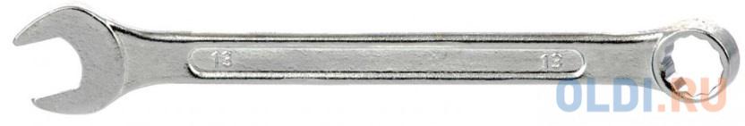 Ключ комбинированный, 13 мм, хромированный// Sparta ключ комбинированный 10 мм хромированный sparta