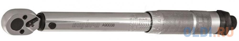 Фото - Ключ OMBRA A90038 динамометрический 1/4DR 5-25Nm динамометрический ключ ombra а90038
