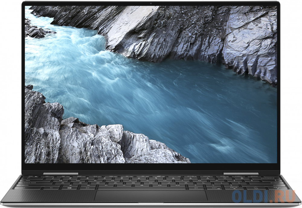 """Ноутбук Dell XPS 13 7390 (2-in-1) i7-1065G7 (1.3)/8G/256G SSD/13,4""""FHD+ Touch/Int:Intel Iris Plus/Backlit/Win10 (7390-3912) Silver"""