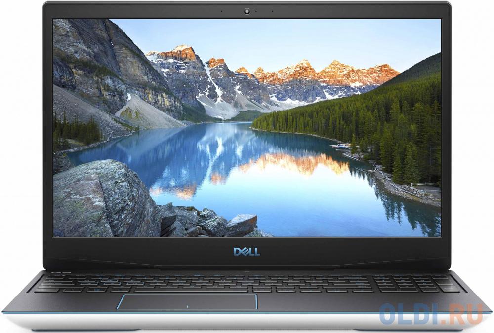 "Ноутбук Dell G3-3590 i7-9750H (2.6)/8G/512G SSD/15,6""FHD AG IPS/NV GTX1660Ti 6G/Backlit/Linux (G315-6769) White"
