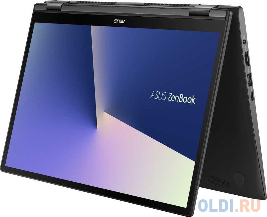 """Ноутбук Asus UX463FA-AI043T i5-10210U (1.6)/8G/256G SSD/14.0""""FHD GL IPS Touch/Int:Intel UHD 620/ScreenPad/noODD/Win10 Gun Grey + чехол, стилус"""