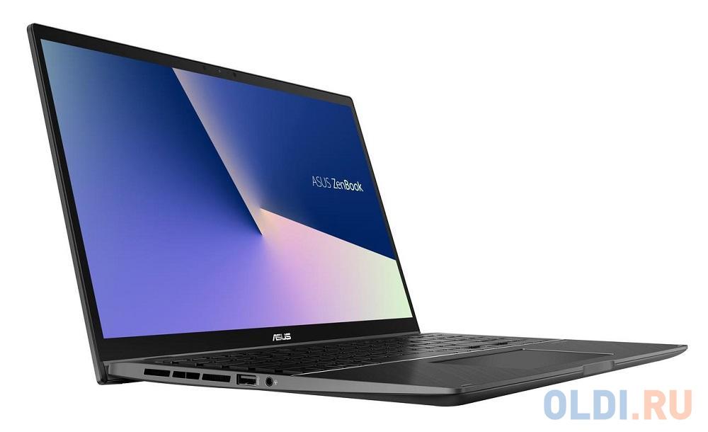"Ноутбук Asus UX563FD-EZ008T i5-10210U (1.6)/8G/512G SSD/15.6""FHD GL IPS Touch/NV GTX1050 4G/noODD/Win10 Gun Grey"