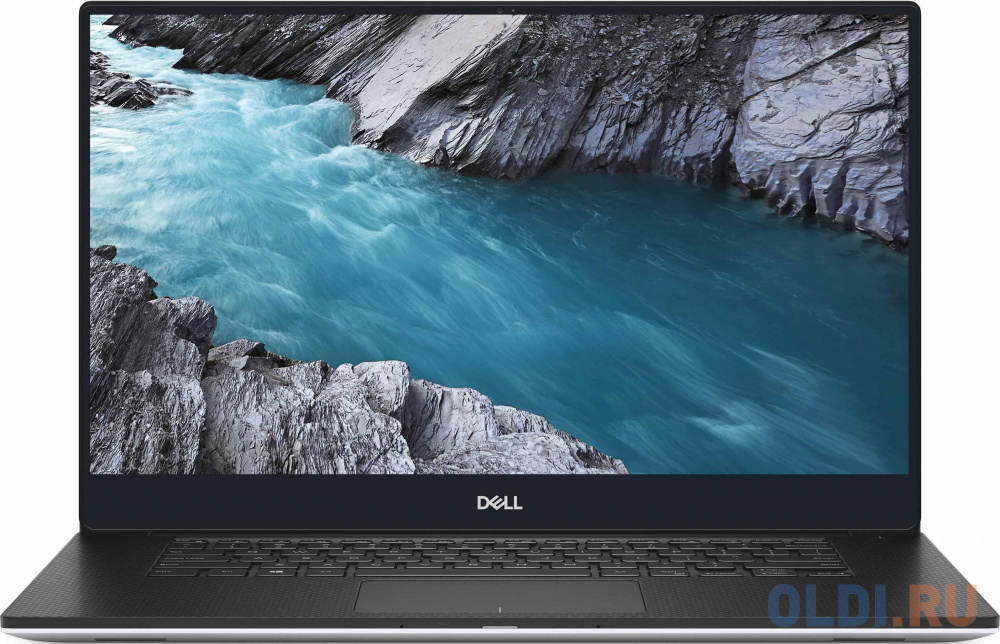 "Ноутбук DELL XPS 15 15.6"" 3840x2160 Intel Core i7-9750H 512 Gb 16Gb nVidia GeForce GTX 1650 4096 Мб серебристый Windows 10 Professional 7590-6418"