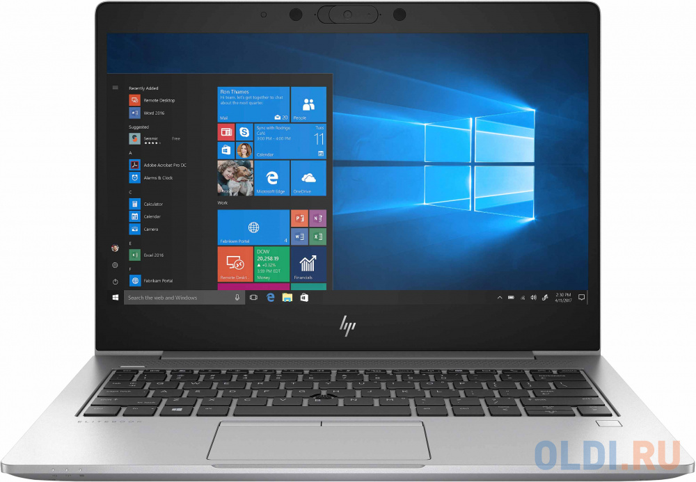 Ноутбук HP EliteBook 735 G6 13.3 1920x1080 AMD Ryzen 3-3300U 256 Gb 8Gb AMD Radeon Vega 6 Graphics серебристый Windows 10 Professional 6XE75EA ноутбук dell inspiron 3585 15 6 amd ryzen 3 2300u 2 0ггц 4гб 1000гб amd radeon vega 6 linux 3585 1697 серебристый