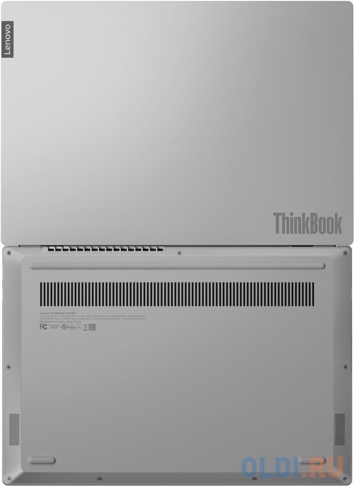 Ноутбук Lenovo Thinkbook 13s-IML Core i5 10210U/8Gb/SSD512Gb/Intel UHD Graphics/13.3/IPS/FHD (1920x1080)/Windows 10 Professional 64/grey/WiFi/BT/Cam ноутбук dell vostro 3583 core i5 8265u 4gb ssd256gb amd radeon 520 2gb 15 6 fhd 1920x1080 linux ubuntu grey wifi bt cam
