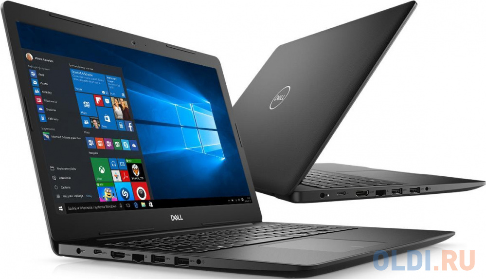 Ноутбук DELL Inspiron 3593 15.6 1920x1080 Intel Core i5-1035G1 256 Gb 8Gb Bluetooth 5.0 nVidia GeForce MX230 2048 Мб черный Windows 10 Home 3593-8659 ноутбук dell inspiron 3593 intel core i3 1005g1 1200mhz 15 6 1920x1080 4gb 1000gb hdd dvd нет intel uhd graphics wi fi bluetooth linux 3593 8598 черный