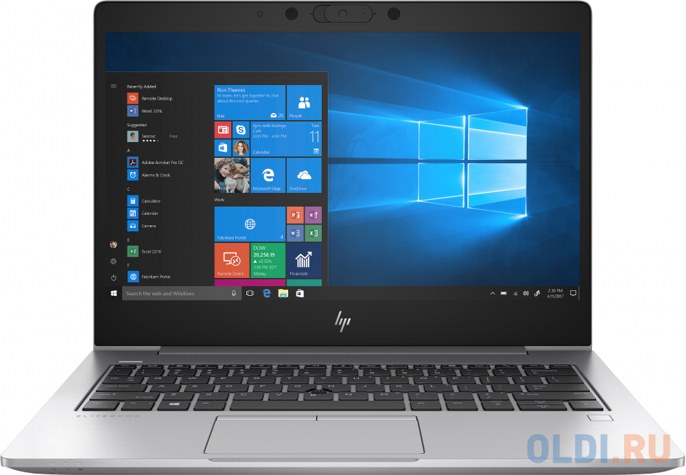 Ноутбук HP EliteBook 830 G6 13.3 1920x1080 Intel Core i5-8265U 256 Gb 8Gb Intel UHD Graphics 620 серебристый Windows 10 Professional 6XE14EA ноутбук hp 15 dw0005ur intel core i3 8145u 2100 mhz 15 6 1366x768 8gb 256gb ssd no dvd intel uhd graphics 620 wi fi bluetooth windows 10