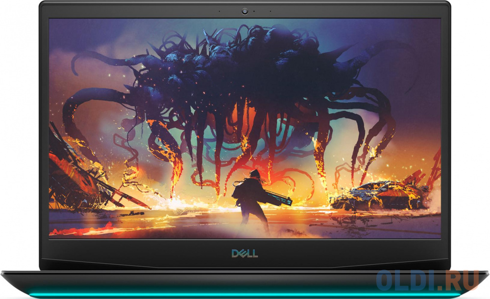 "Ноутбук Dell G5 5500 Core i7 10750H/16Gb/SSD512Gb/nVidia GeForce GTX 1660 Ti 6Gb/15.6""/WVA/FHD (1920x1080)/Windows 10/black/WiFi/BT/Cam"