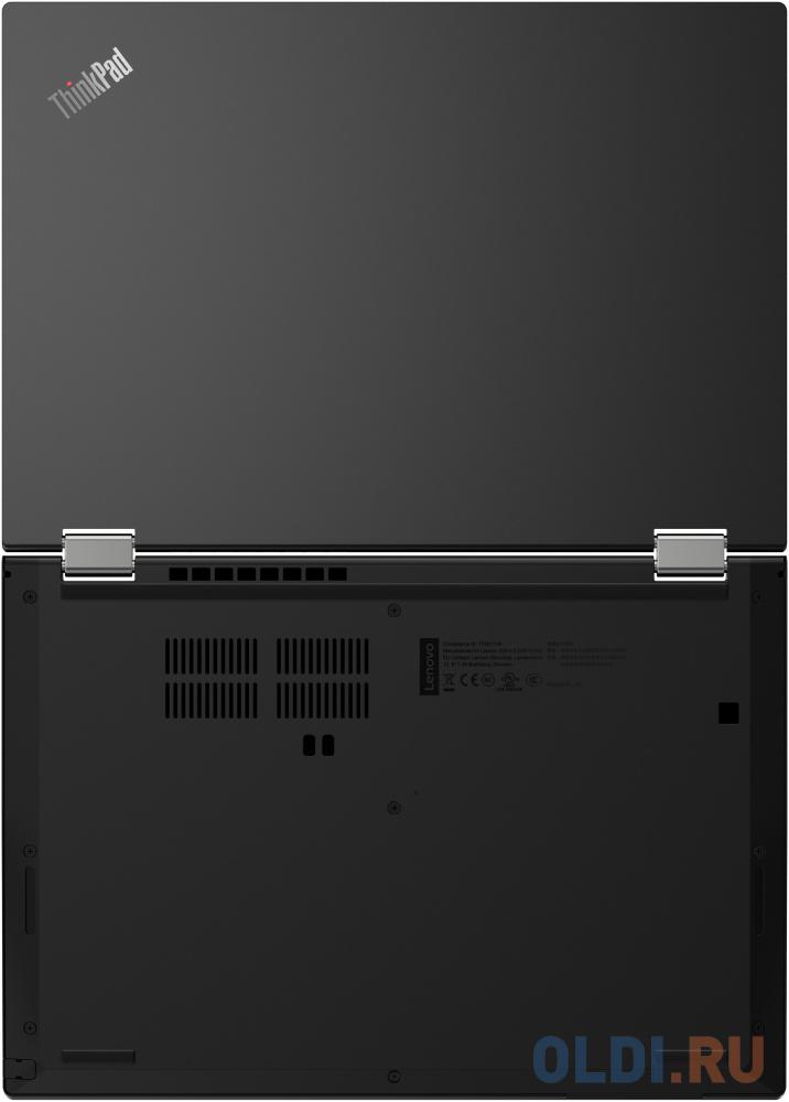 Ноутбук Lenovo ThinkPad L13 Yoga Core i5 10210U/16Gb/SSD256Gb/Intel UHD Graphics 620/13.3/IPS/Touch/FHD (1920x1080)/Windows 10 Professional 64/black/WiFi/BT/Cam ноутбук lenovo thinkpad x1 carbon 7 intel core i7 8565u 14 2560x1440 16gb 256gb ssd no dvd intel uhd graphics 620 wi fi 3g lte bt windows 10 pro