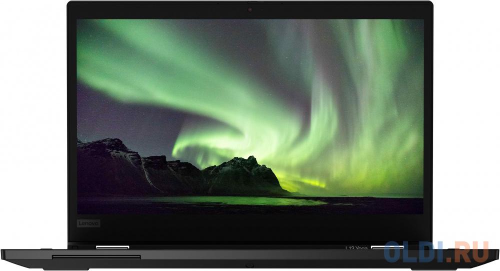 "Ультрабук Lenovo ThinkPad Yoga L13 13.3"" 1920x1080 Intel Core i5-10210U 256 Gb 8Gb Bluetooth 5.0 Intel UHD Graphics 620 черный Windows 10 Professional 20R50004RT"