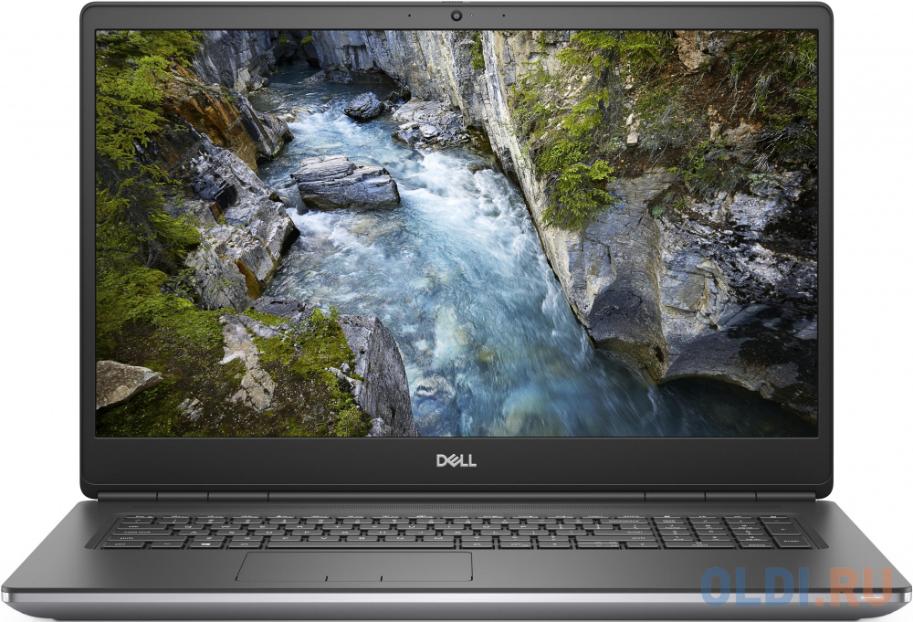 "Ноутбук DELL Precision 7750 17.3"" 1920x1080 Intel Core i7-10850H 512 Gb 16Gb WiFi (802.11 b/g/n/ac/ax) nVidia Quadro RTX 3000 6144 Мб серый Windows 10 Professional 7750-5508"
