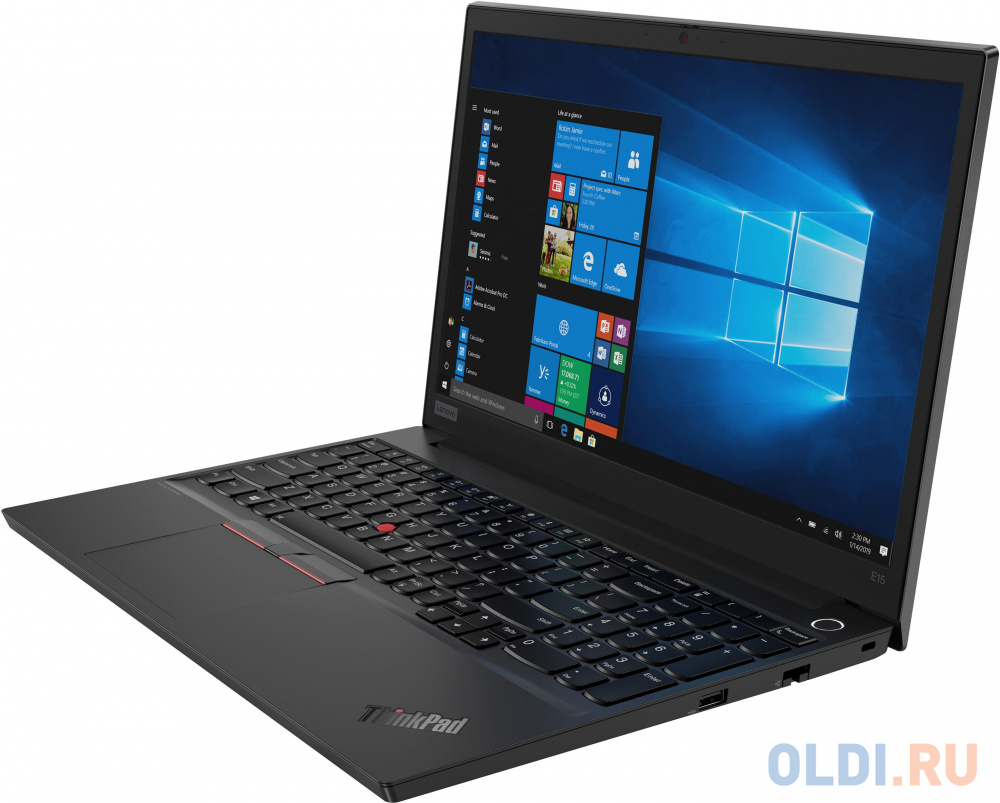 "Ноутбук Lenovo ThinkPad E15-IML T 15.6"" 1920x1080 Intel Core i3-10110U 128 Gb 8Gb Wi-Fi Intel UHD Graphics черный Windows 10 Professional 20RD0033RT"