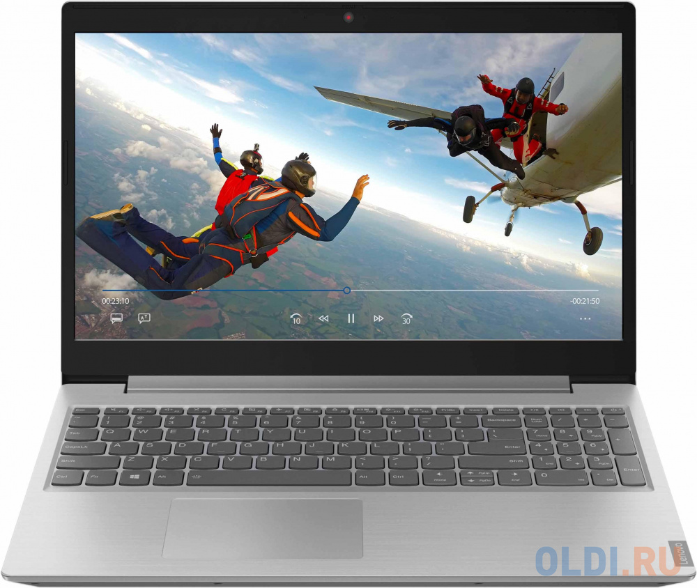 "Ноутбук Lenovo IdeaPad L340-15API 15.6"" 1920x1080 AMD Ryzen 5-3500U 256 Gb 8Gb AMD Radeon Vega 8 Graphics серый DOS 81LW005ARK"