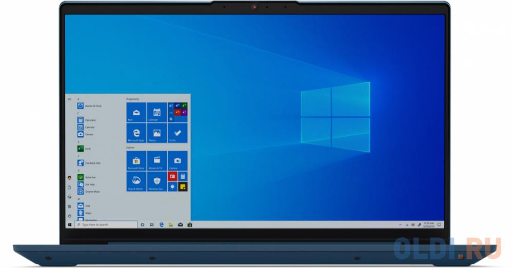 "Ноутбук Lenovo IdeaPad IP5 14IIL05 Core i5 1035G1/8Gb/SSD512Gb/Intel UHD Graphics/14""/IPS/FHD (1920x1080)/Windows 10/turquoise/WiFi/BT/Cam"