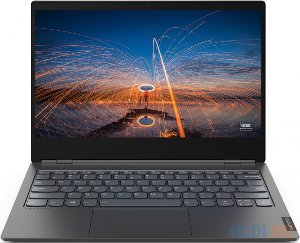 "Ноутбук Lenovo Thinkbook Plus 13.3"" 1920x1080 Intel Core i5-10210U 256 Gb 8Gb WiFi (802.11 b/g/n/ac/ax) Bluetooth 5.0 Intel UHD Graphics серый Windows 10 Professional 20TG006CRU"