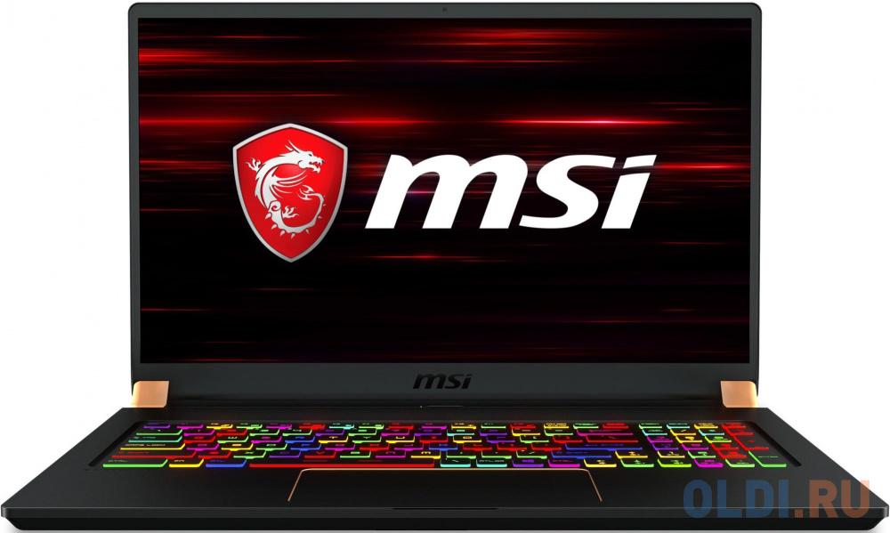 Фото - Ноутбук MSI GS75 10SFS-464RU Stealth ноутбук msi gs63 7re 045ru stealth pro 9s7 16k412 045