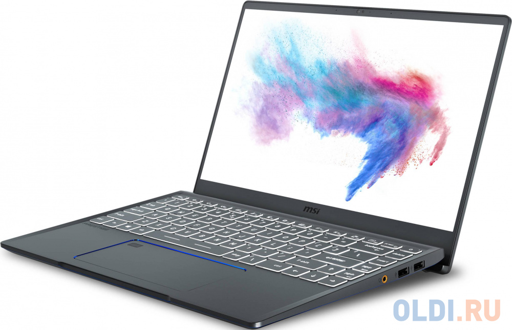 "Ноутбук MSI Prestige 14 A10RAS-224RU Comet lake I7-10710U/16GB/512GB SSD/noODD/14"" FHD, IPS 60Hz TBezel/MX330, 2GB GDDR5/WiFi+BT/Win 10/Carbon Grey"