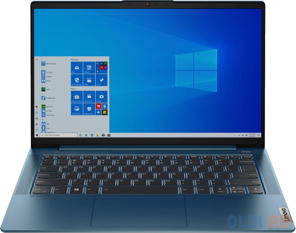 """Ультрабук Lenovo IdeaPad 5-14ARE05 14"""" 1920x1080 AMD Ryzen 3-4300U 512 Gb 8Gb Bluetooth 5.0 AMD Radeon Graphics бирюзовый Windows 10 Home 81YM002ERU"""