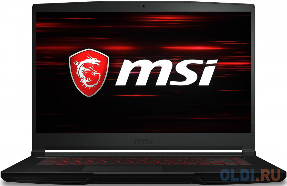 "Ноутбук MSI GF63 Thin 9SCXR-454RU Core i7 9750H/8Gb/SSD512Gb/NVIDIA GeForce GTX 1650 MAX Q 4Gb/15.6""/IPS/FHD (1920x1080)/Windows 10/black/WiFi/BT/Cam"