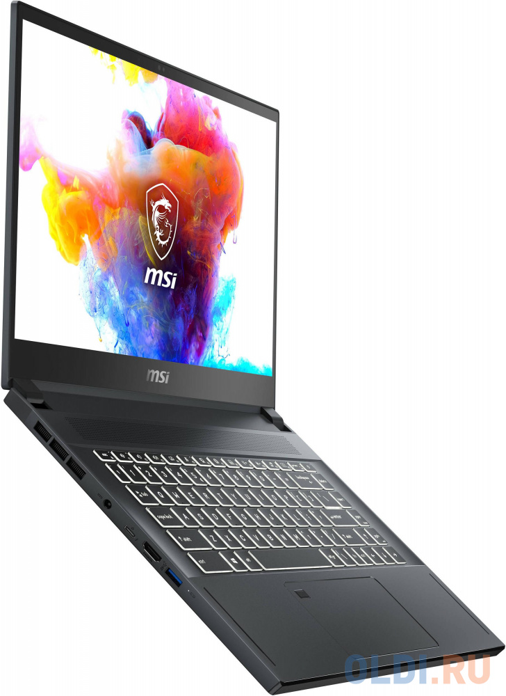 "Ноутбук MSI Creator 15 A10SFT-054RU Comet lake i7-10875H/32GB/1TB SSD/noODD/15.6"" FHD Touch panel, 60Hz/RTX2070 Max-Q, GDDR6 8GB/WiFi+BT/Win 10/Carbon Grey"