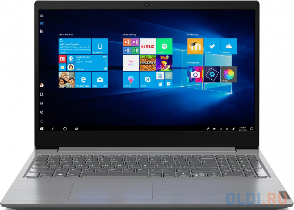 "Ноутбук Lenovo V15-IIL 15.6"" 1920x1080 Intel Core i5-1035G1 256 Gb 8Gb Intel UHD Graphics серый Windows 10 Professional 82C500A3RU"