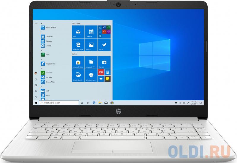 Ноутбук HP 14-cf3002ur 14 1920x1080 Intel Core i5-1035G1 256 Gb 8Gb AMD Radeon 620 2048 Мб серебристый Windows 10 Home 12C94EA ноутбук hp pavilion 14 ce3050ur 14 1920x1080 intel core i5 1035g1 512 gb 8gb bluetooth 5 0 intel uhd graphics сиреневый windows 10 home 22m62ea