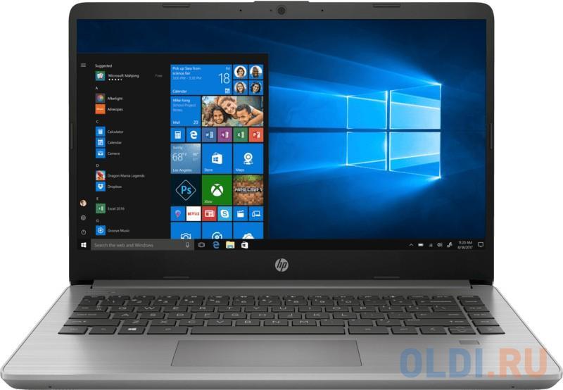 "Ноутбук HP 340S G7 14"" 1920x1080 Intel Core i5-1035G1 256 Gb 8Gb Bluetooth 5.0 Intel UHD Graphics серебристый Windows 10 Professional 8VV95EA"