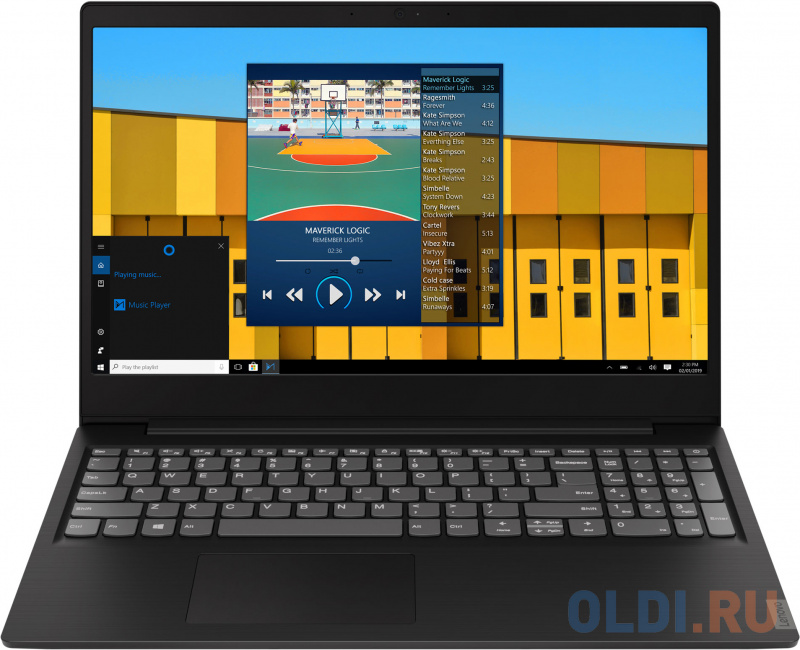 "Ноутбук Lenovo IdeaPad S145-15IKB 15.6"" 1366x768 Intel Core i3-8130U 256 Gb 8Gb Intel UHD Graphics 620 серый Windows 10 Home 81VD00DKRU"