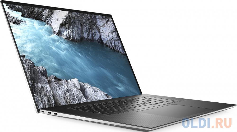 "Ноутбук DELL XPS 17 9700 17.3"" 3840x2400 Intel Core i7-10875H 1024 Gb 16Gb WiFi (802.11 b/g/n/ac/ax) Bluetooth 5.1 nVidia GeForce RTX 2060 6144 Мб серебристый Windows 10 Home 9700-7304"
