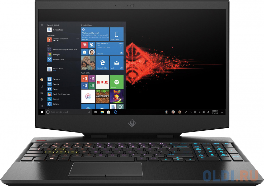 Ноутбук HP Omen 15-dh1025ur ноутбук hp omen 15 en0039ur