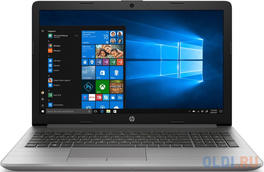 "Ноутбук HP 250 G7 15.6"" 1920x1080 Intel Core i5-1035G1 256 Gb 8Gb nVidia GeForce MX110 2048 Мб серебристый DOS 1Q3F4ES"