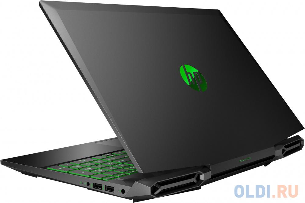 "Ноутбук HP Pavilion Gaming 15-dk1043ur 15.6"" 1920x1080 Intel Core i7-10750H 512 Gb 16Gb Bluetooth 5.0 nVidia GeForce GTX 1660 Ti 6144 Мб черный DOS 22P78EA"
