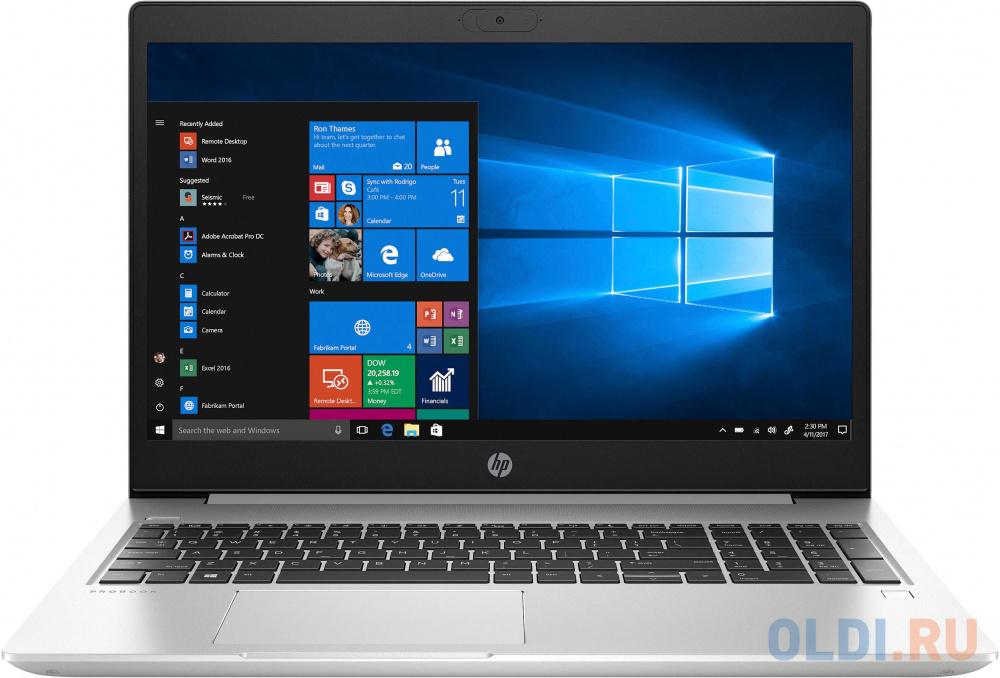 Ноутбук HP Probook 450 G7 9HP72EA i7-10510U (1.8)/8GB/256Gb SSD/15.6'' FHD AG/Int:Intel UHD 620/Cam HD/BT/FPS/DOS (Pike Silver)