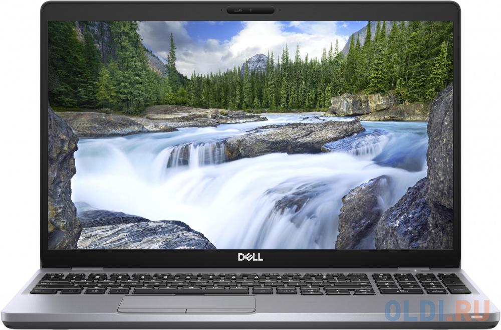 "Ноутбук Dell Latitude 5510 Core i5 10210U/8Gb/SSD256Gb/Intel UHD Graphics 620/15.6"" WVA/HD (1366x768)/Linux/grey/WiFi/BT/Cam"