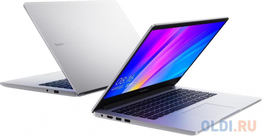 "Ноутбук Xiaomi Mi RedmiBook Core i7 10510U/8Gb/SSD512Gb/NVIDIA GeForce MX250 2Gb/14""/IPS/FHD (1920x1080)/Linux/silver/WiFi/BT"