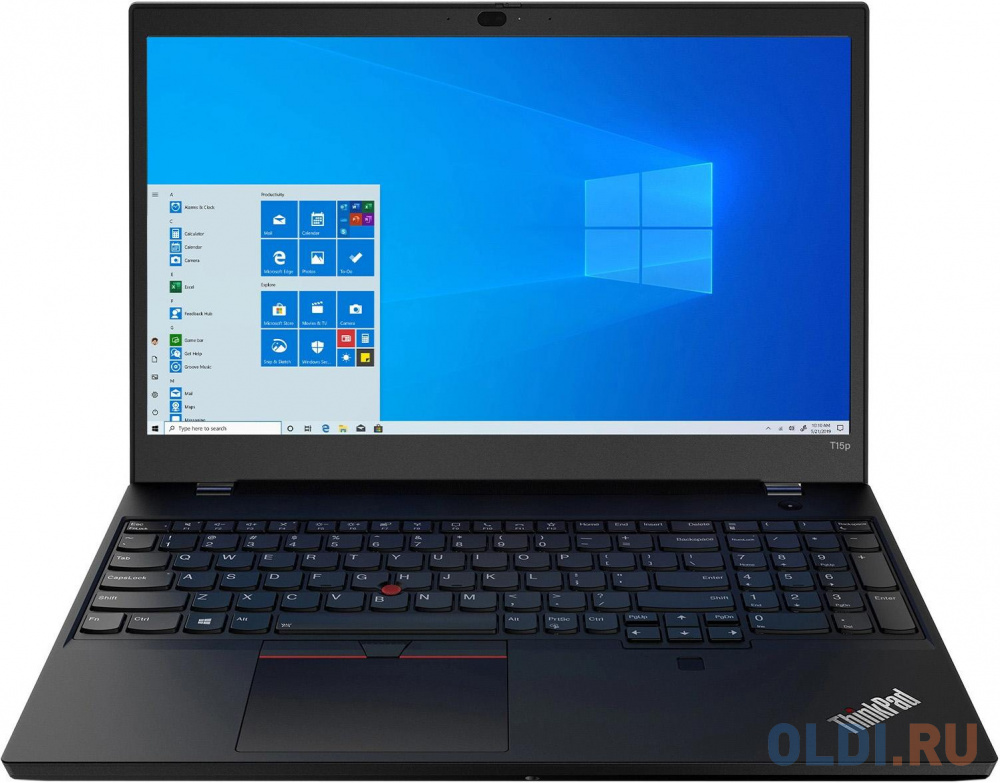 Ноутбук Lenovo ThinkPad T15p Gen 1 20TN0015RT