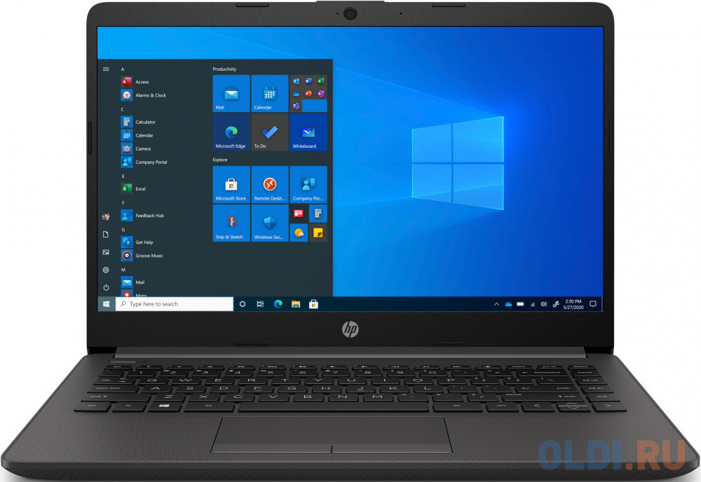 "Ноутбук HP 240 G8 i5 1035G1/8Gb/SSD256Gb/14""/UWVA/FHD/W10Pro64/black (2X7J3EA)"