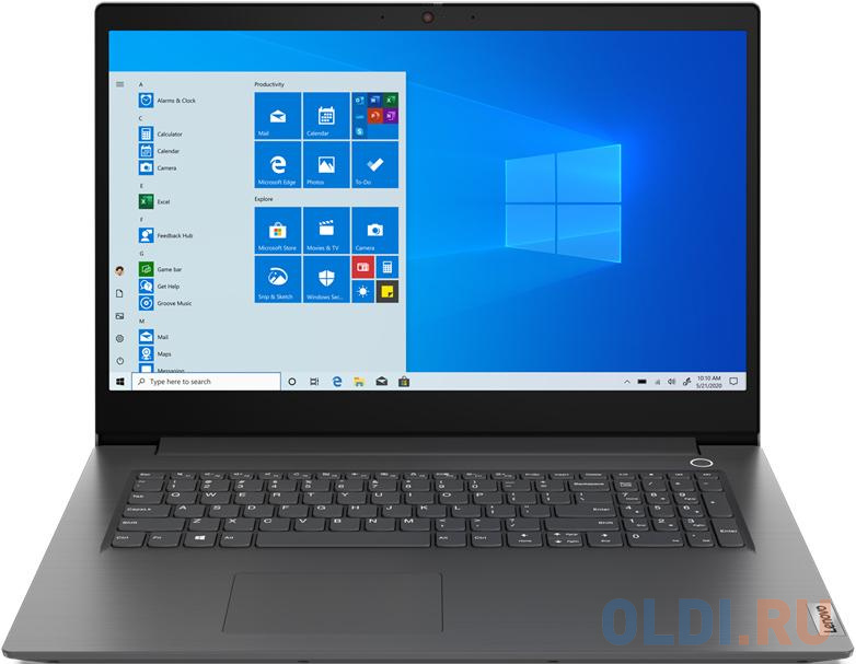 Фото - Ноутбук Lenovo V17-IIL 17.3 1920x1080 Intel Core i3-1005G1 256 Gb 4Gb WiFi (802.11 b/g/n/ac/ax) Bluetooth 5.0 Intel UHD Graphics серый Без ОС 82GX0086RU ультрабук lenovo v14 iil 14 1920x1080 intel core i3 1005g1 256 gb 4gb intel uhd graphics серый windows 10 professional 82c400sfru