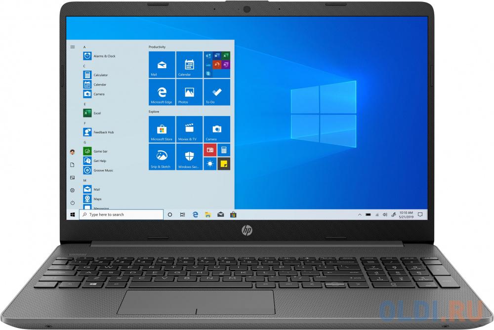 """Ноутбук HP 15-gw0028ur 15.6"""" 1920x1080 AMD Ryzen 3-3250U 256 Gb 4Gb AMD Radeon 620 2048 Мб серый DOS 22P42EA"""