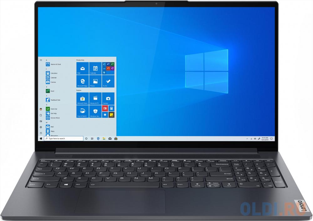 "Ультрабук Lenovo Yoga Slim7 15ITL05 15.6"" 1920x1080 Intel Core i7-1165G7 512 Gb 16Gb WiFi (802.11 b/g/n/ac/ax) Bluetooth 5.0 Intel Iris Xe Graphics серый Windows 10 Home 82AC001VRU"