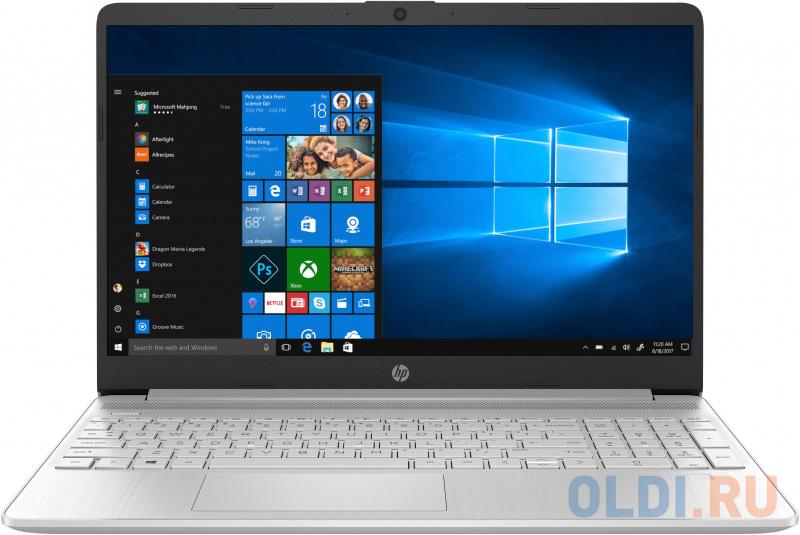 "Ноутбук HP 15s-fq3018ur (3T790EA) 15.6""FHD IPS/Pen N6000 Quad/8Gb/512Gb SSD/Intel UHD/Win10 серебристый"
