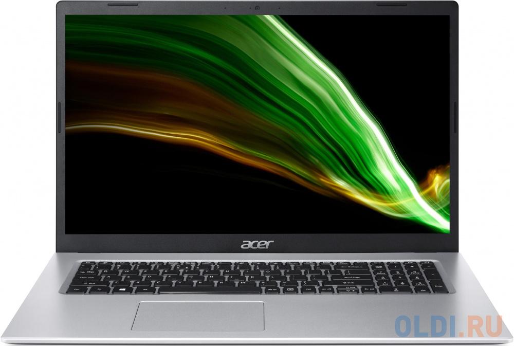 "Ноутбук Acer Aspire 3 A317-33-P2RW Pentium Silver N6000/4Gb/SSD512Gb/Intel UHD Graphics/17.3""/HD+ (1600x900)/Windows 10/silver/WiFi/BT/Cam"