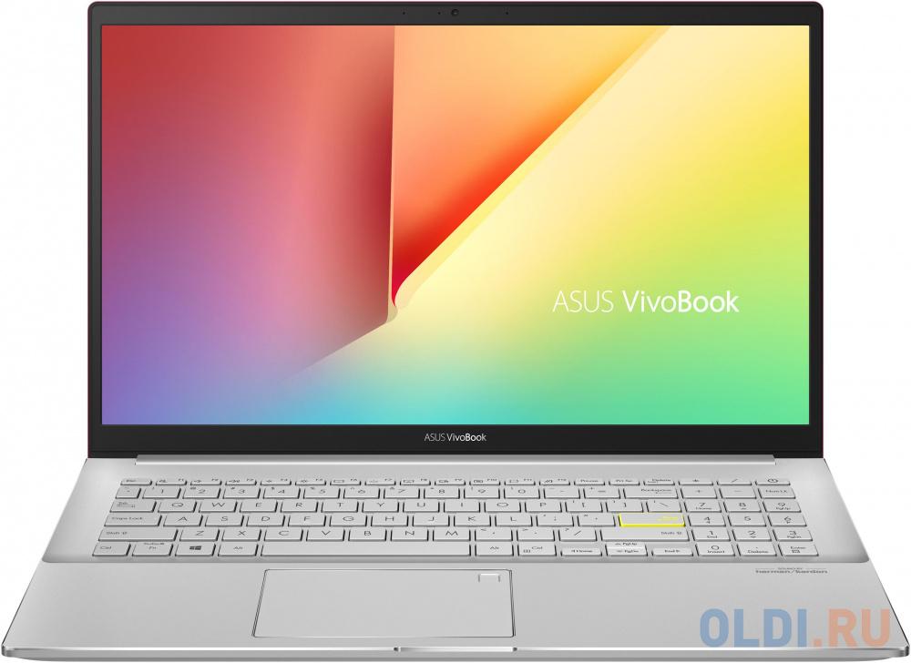"Ноутбук ASUS S533EQ Intel i5-1135G7/8Gb/512Gb SSD/No ODD/15.6"" FHD IPS Anti-Glare/NVIDIA® GeForce® MX350 2Gb GDDR5/Wi-Fi/Win10 Resolute Red"