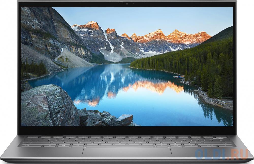 "Dell Inspiron 5410 2 in 1 14""(1920x1080)/Touch/Intel Core i7 1165G7(2.8Ghz)/16384Mb/512SSDGb/noDVD/Ext:nVidia GeForce MX350(2048Mb)/Cam/BT/WiFi/war 1y/Platnum silver/ Win 10 Home  + Backlit Kbrd"