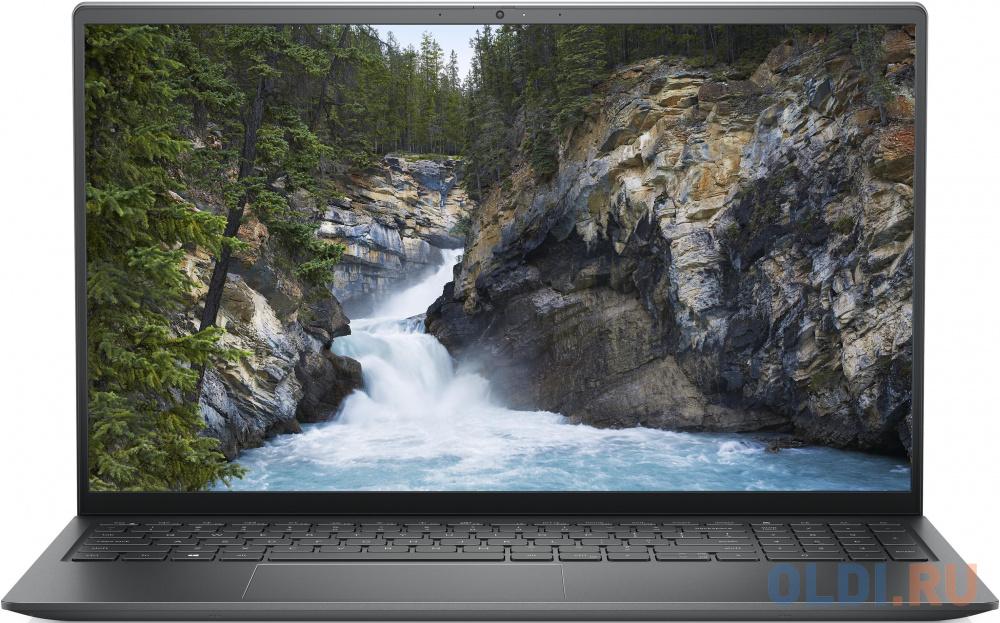 """Dell Vostro 5510 15.6""""(1920x1080 (матовый) WVA)/Intel Core i7 11370H(3.3Ghz)/8192Mb/512SSDGb/noDVD/Ext:nVidia GeForce MX450(2048Mb)/Cam/BT/WiFi/war 1y/Titan Grey/ Win 10 Home"""